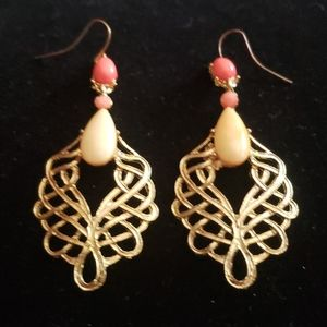 Vintage estate earrings
